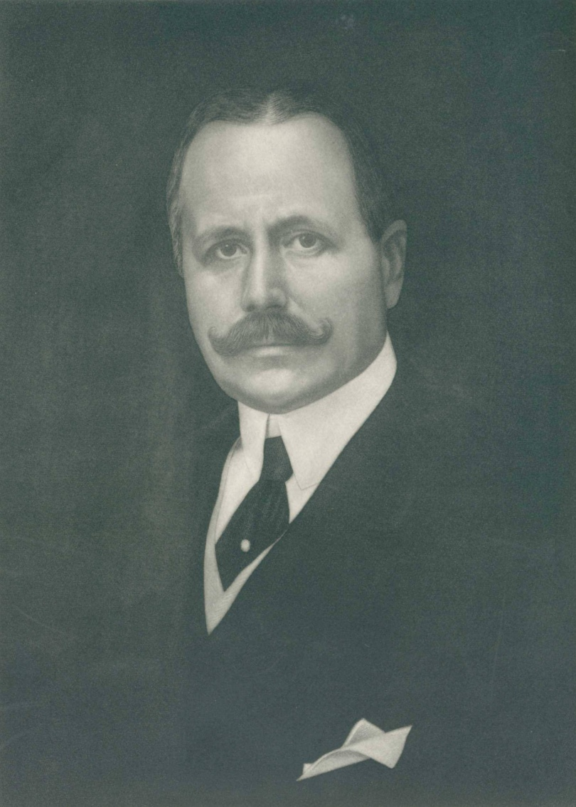 George D. Widener portrait